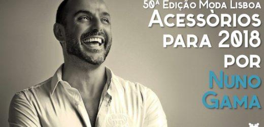 50ª Moda Lisboa: Acessórios para 2018 por Nuno Gama