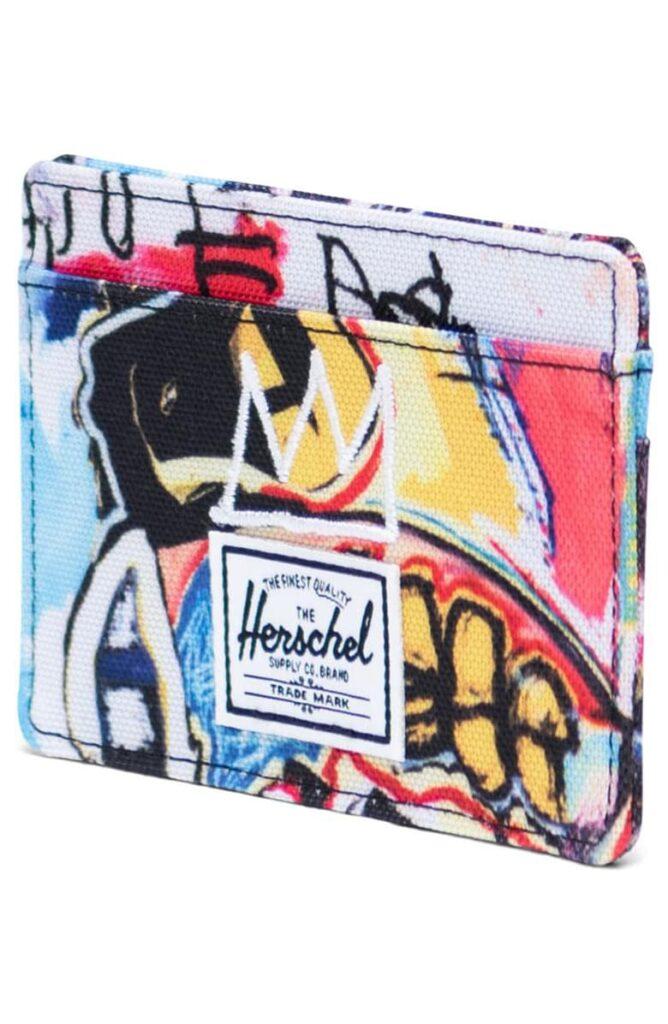 Basquiat Charlie RIFD Card Case HERSCHEL SUPPLY CO.
