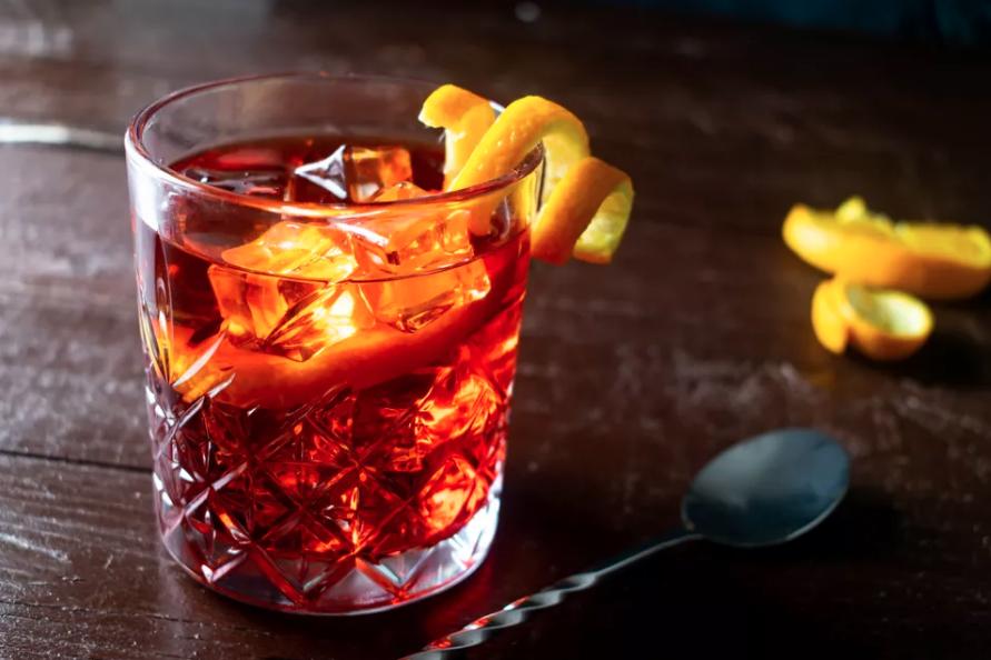 Negroni gin