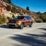 New Dacia DUSTER tests drive in Greece