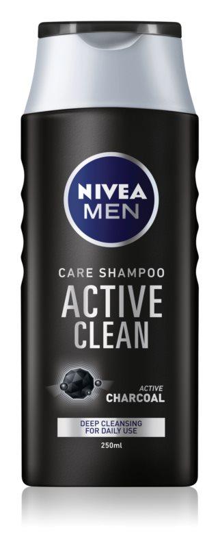 nivea men active clean champo