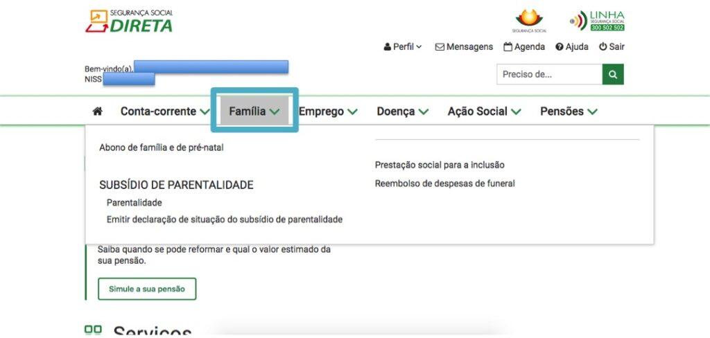 portal seguranca social direta