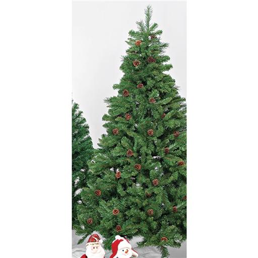 Árvore Natal Premium com Pinhas Nº T4 180 cm