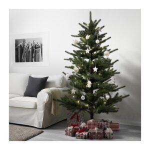 VINTERFEST Planta artificial, interior/exterior, árvore de Natal