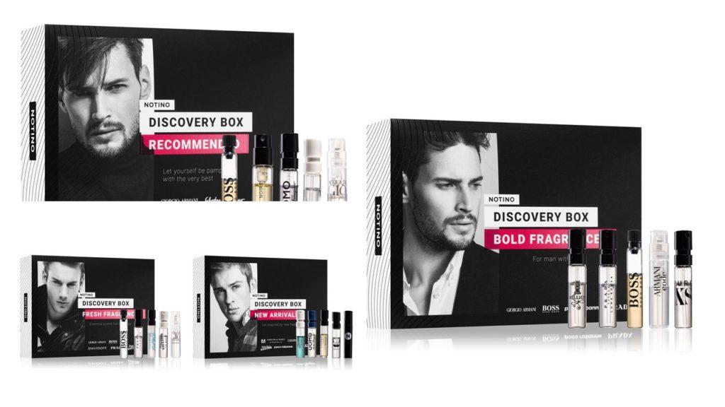 Discovery Box da Notino tem 5 perfumes e custa 6 euros