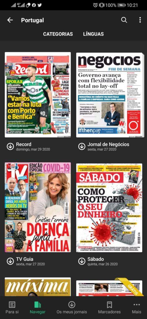 PressReader: O quiosque de jornais e revistas online