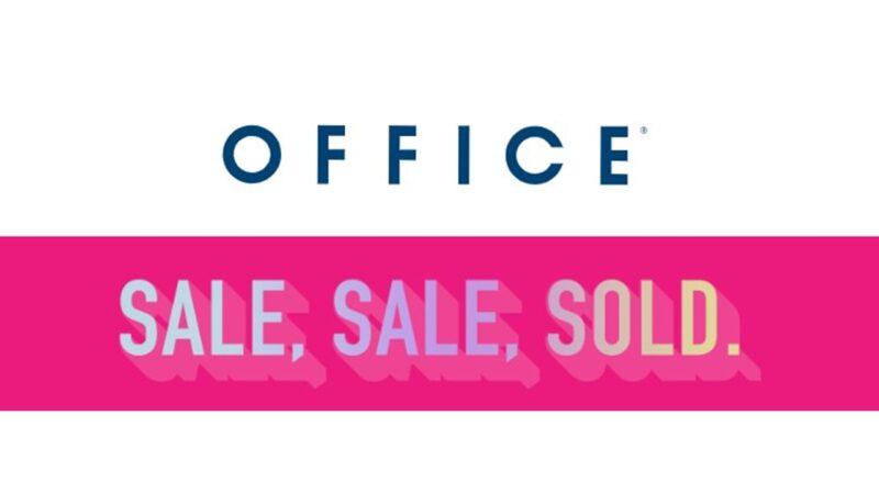 Está na hora de renovar as tuas sapatilhas com os saldos da Office.co.uk
