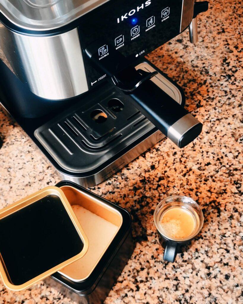 máquina de café automática create ikohs