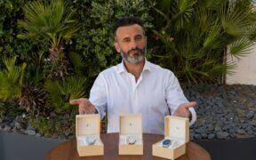 Rui Unas lança coleção de relógios Like a Lord